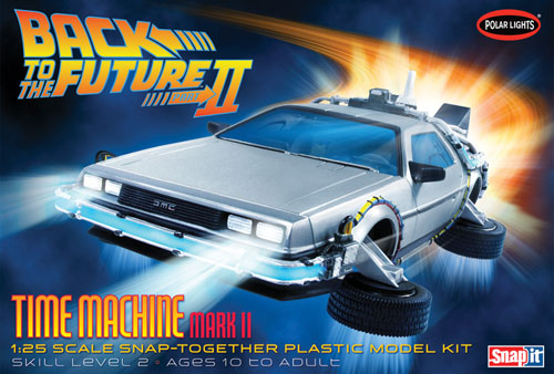 Back To the Future II Time Machine Snap Kit
