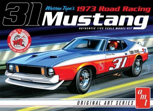 Warren Tope 1973 Ford Mustang – Original Art Series