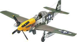 P-51D Mustang Plastic Model Kit