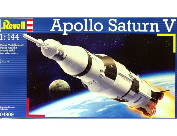 Apollo Saturn V Plastic Model Kit
