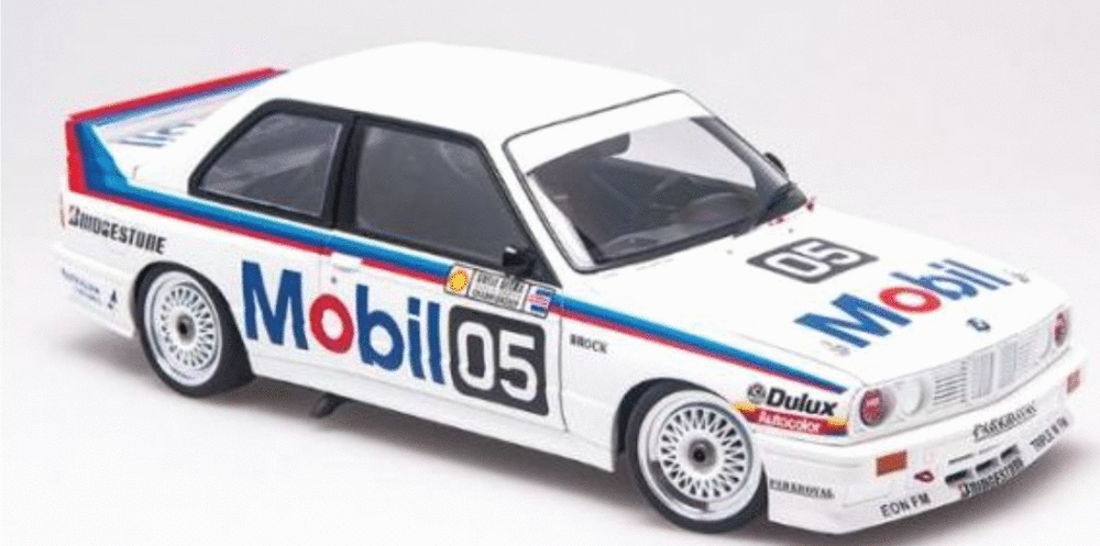 BMW E30 M3 1988 Peter Brock Bathurst #56 Scalextric