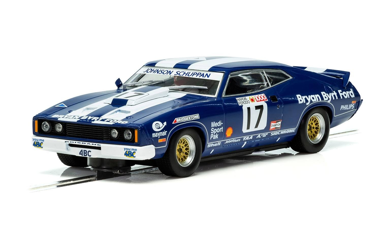 Ford XC Falcon Bathurst 1978 Dick Johnson #17 Scalextric