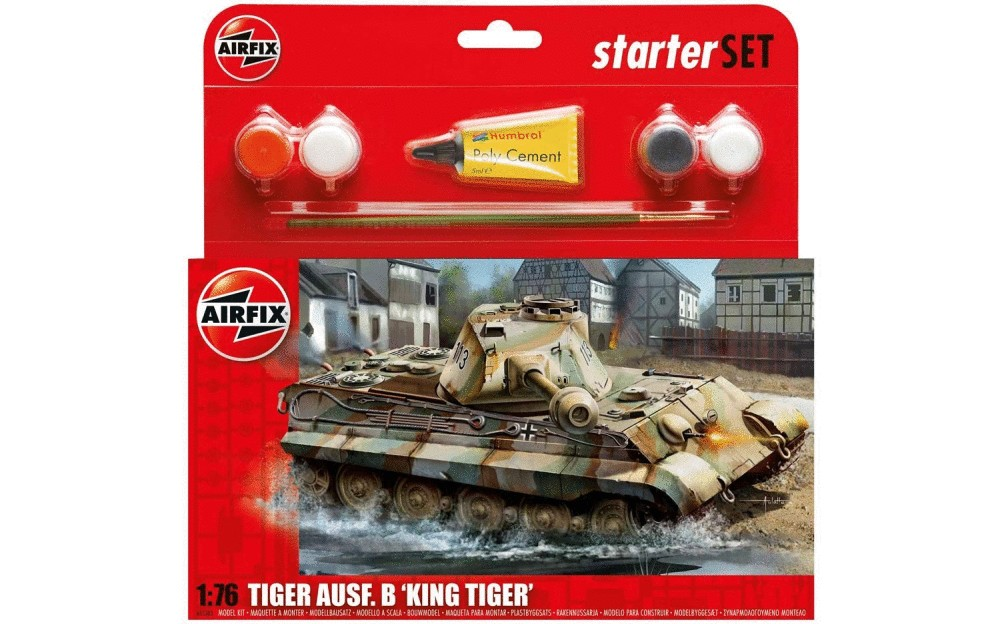 Airfix Starter Set King Tiger Tank