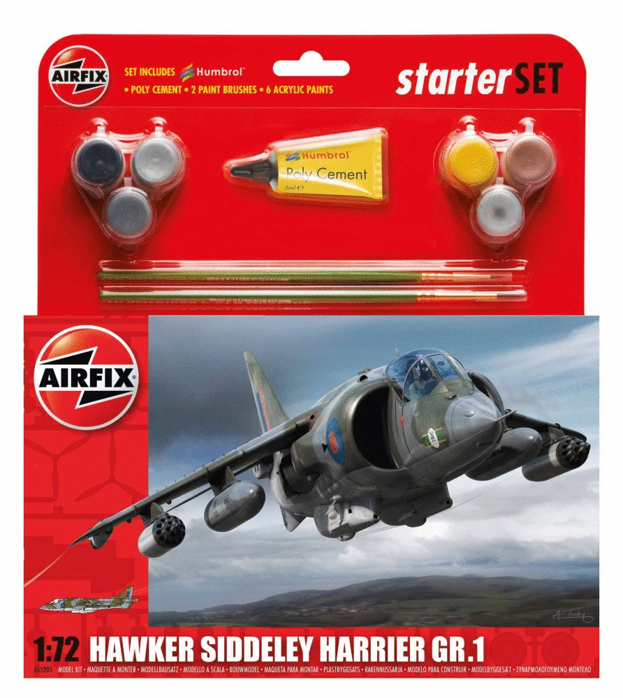 Airfix Starter Set Hawker Harrier GR1