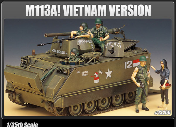 M113A1 Vietnam with Australian Decals Academy