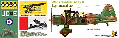 Westland Lysander From HAWK