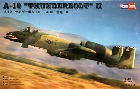 A-10A THUNDERBOLT From Hobby Boss