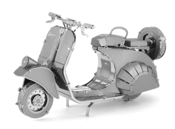 Classic Vespa 125 from Metal Earth