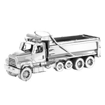 Freightliner Truck 114SD Dump From Metal Earth