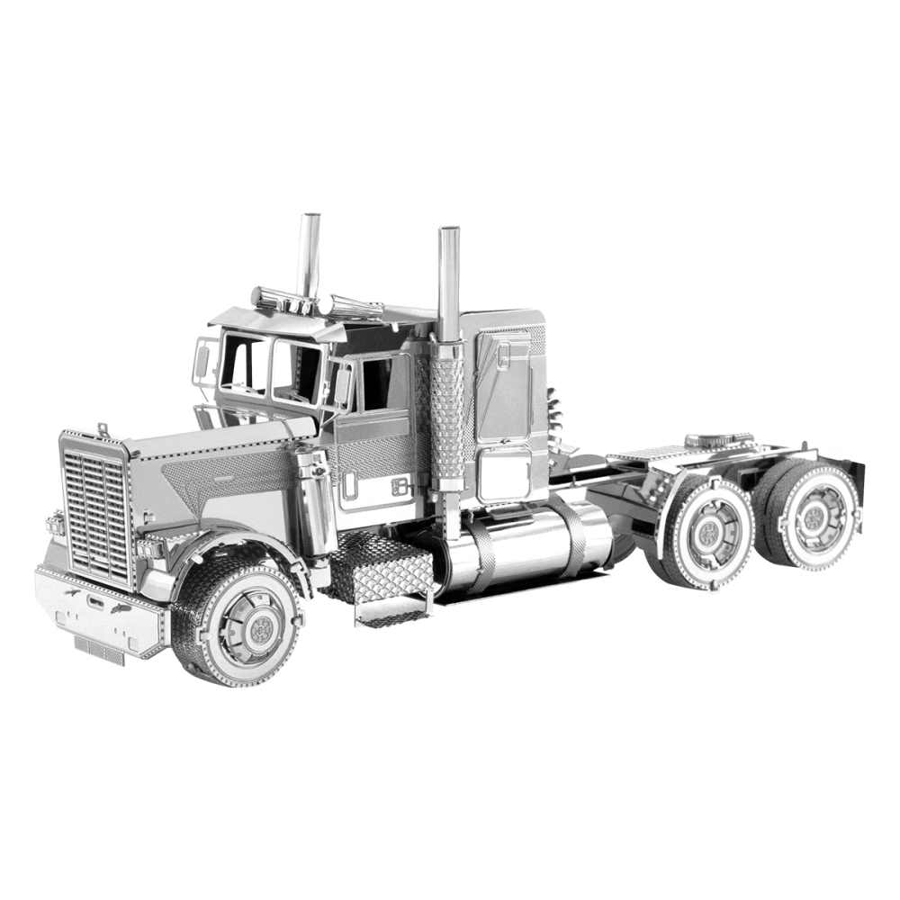 Freightliner Truck FLC Long Nose From Metal Earth