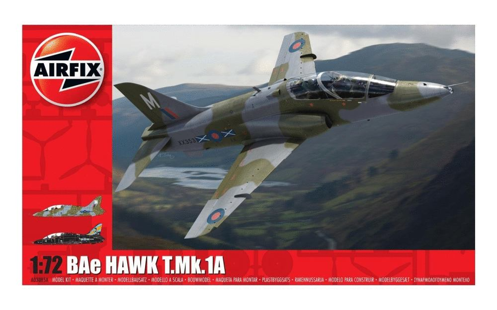 BAe Hawk T.Mk.1A from Airfix