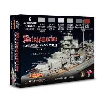 Lifecolor for German ships CS09