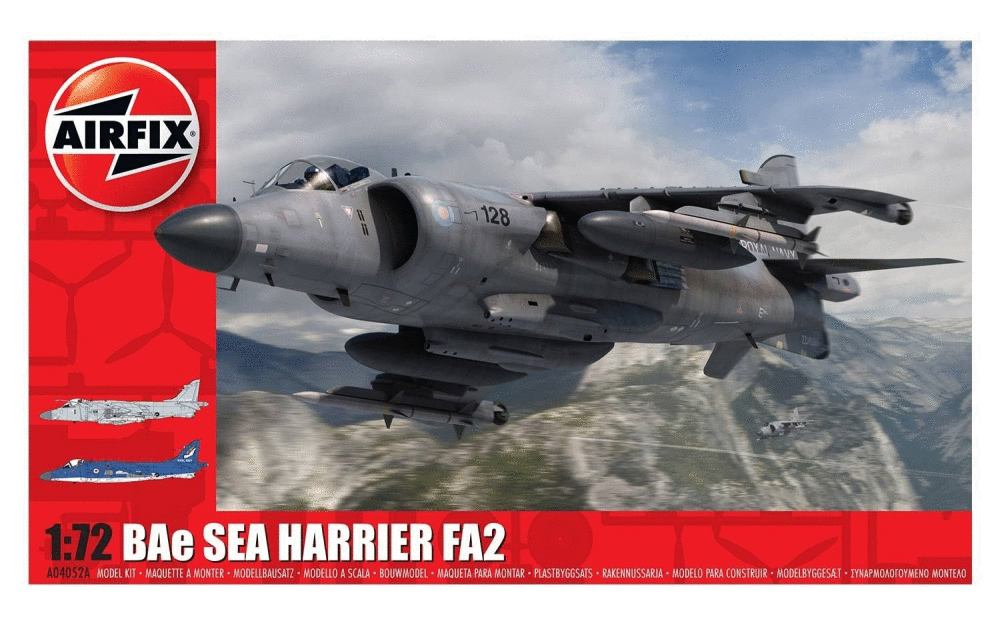 BAe Sea Harrier FA2 1:72