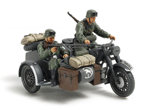 German Motorcycle & Sidecar