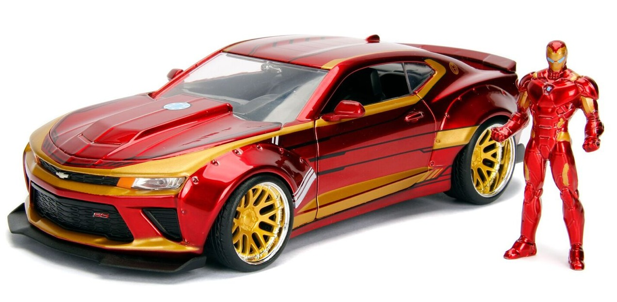 Iron Man 2016 Chevy Camaro SS with Figure