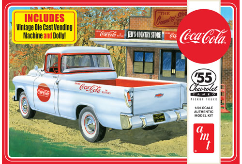 1955 Chevy Cameo Pick Up (Coca-Cola)