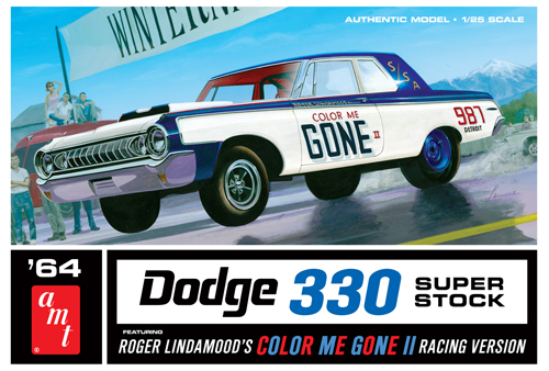 Color Me Gone 1964 Dodge 330 Superstock