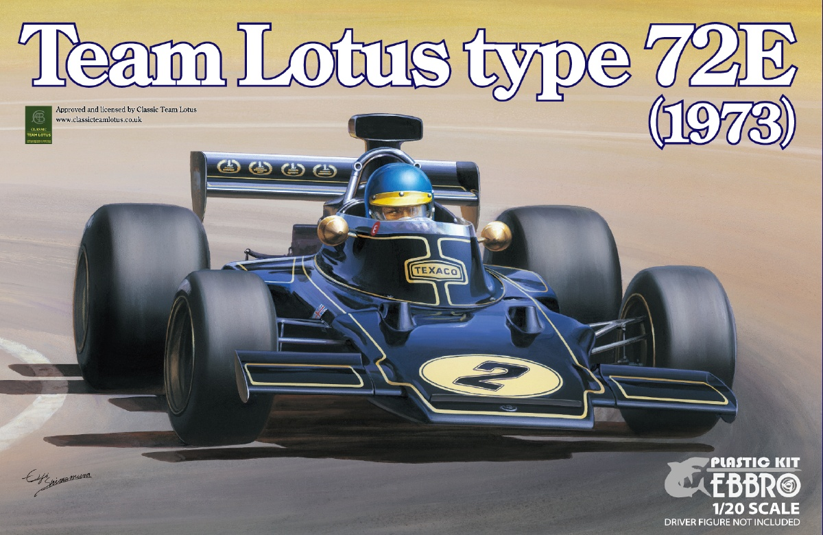 Team Lotus Type 72E 1973 2nd.production