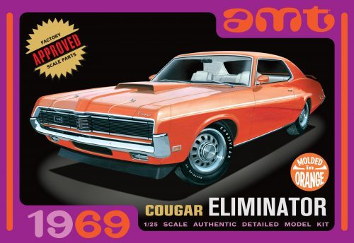 1969 Mercury Cougar (Orange)