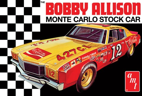 Coca Cola Bobby Allison 1972 Chevy Monte Carlo Stock Car