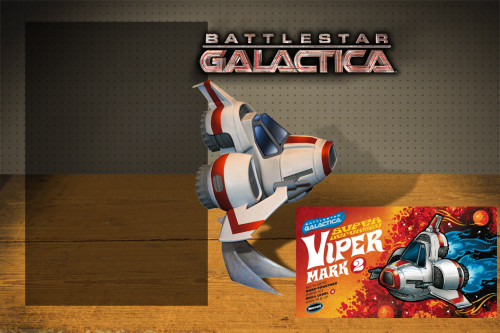 Battlestar Galactica SD (Super-Deformed) Viper MKII