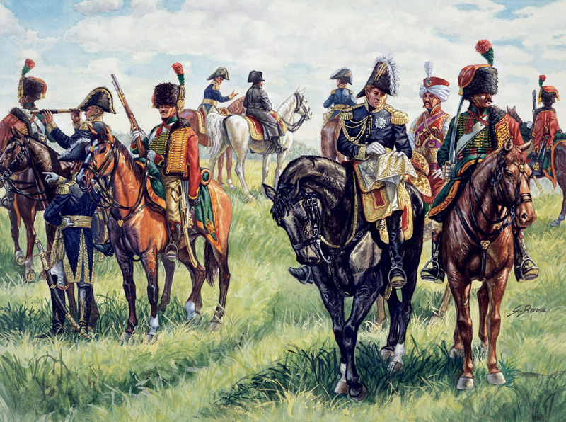 WATERLOO (200years) Napoleon's General Staff