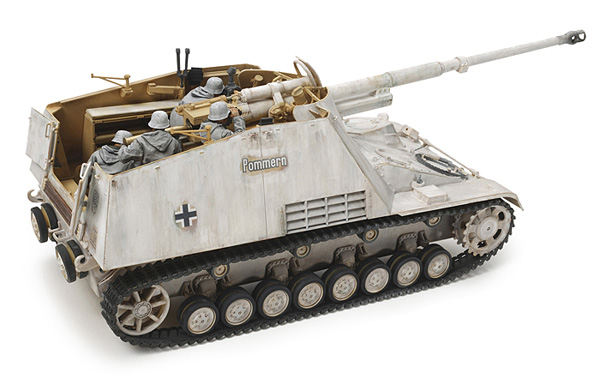 German Self-Propelled Heavy Anti-Tank Gun Nashorn