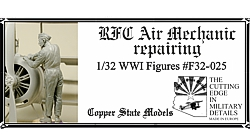 RFC Air Mechanic repairing