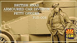 British RNAS Armoured Car Division Petty Officer