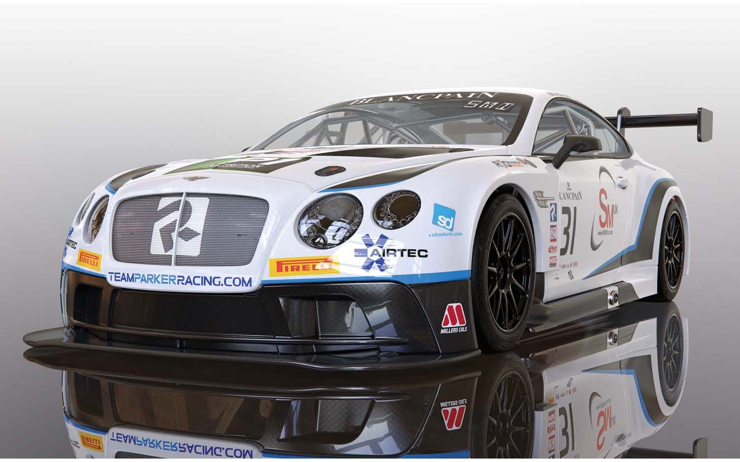 Bentley Continental GT3 Team Parker Racing Brands Hatch 2018