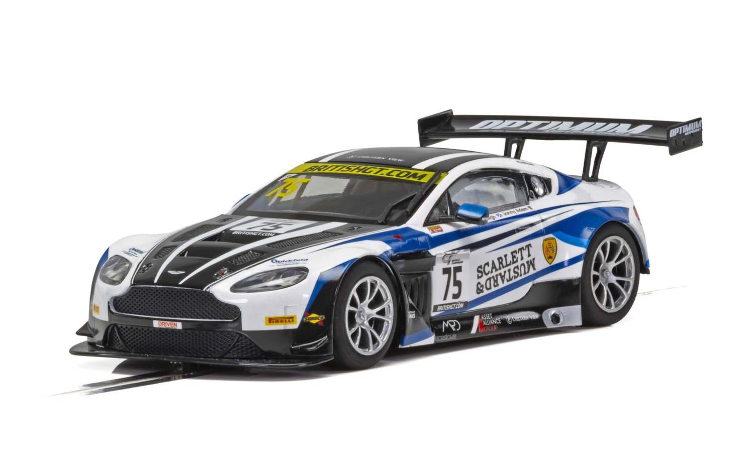 Aston Martin GT3, British GT 2018, Flick Haigh, Johnny Adam