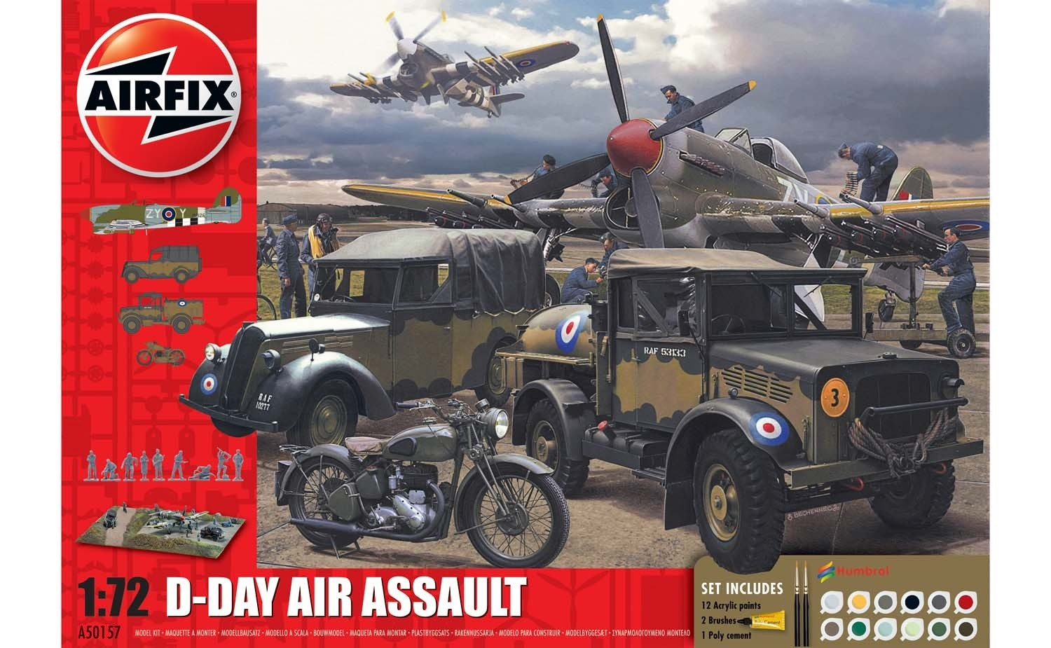 75TH Anniversary D-Day Air Assault Set
