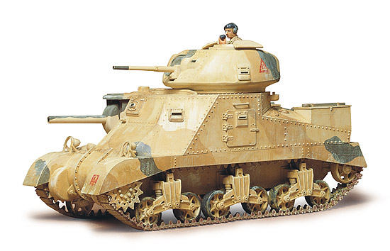 British Army Medium Tank M3 Grant MKI