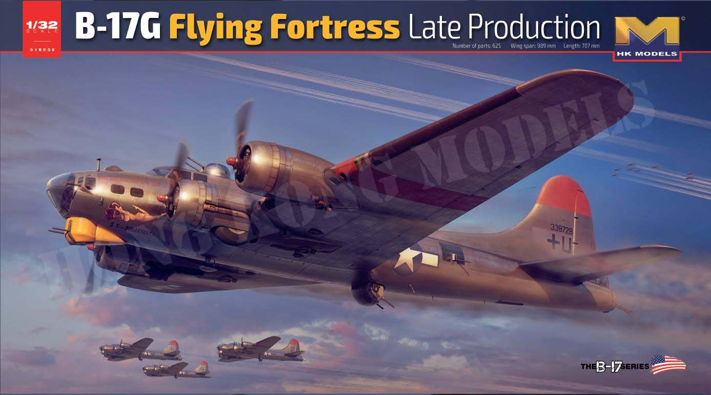B-17G Flying Fortress Late Production