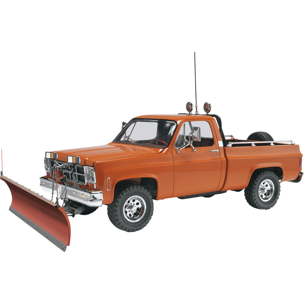 REVELL GMC PICKUP W/ SNOW PLOW