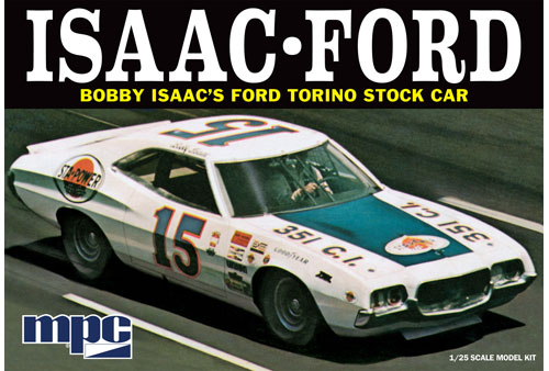 1972 Ford Torino Stock Car – Bobby Isaac #15 Sta-Power