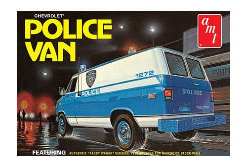 Chevy Police Van (NYPD)