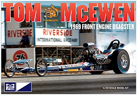 "Tom ""Mongoose"" McEwen 1969 Front Engine Dragster"