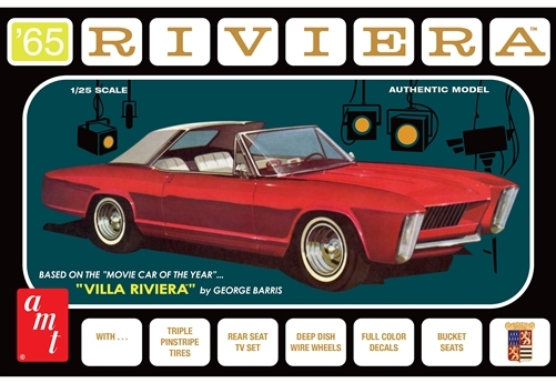 1965 Buick Riviera 3 in 1 with Villa Riviera Parts