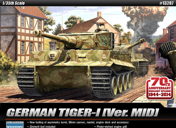 German Tiger I mid version