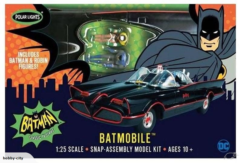 1966 Batmobile Snap Kit