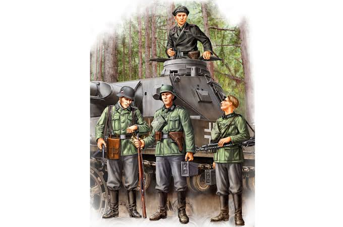 German Infantry Set Vol.1