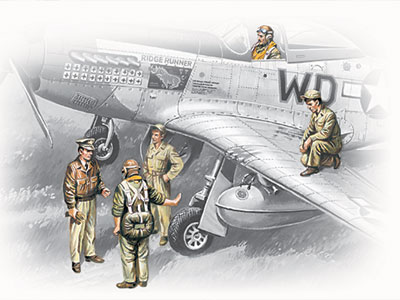 USSAF Pilots and Ground Personnel (1941-1945)