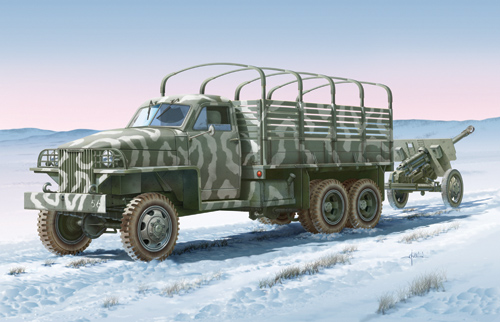 LEND LEASE U.S.TRUCK with ZIS - 3 gun