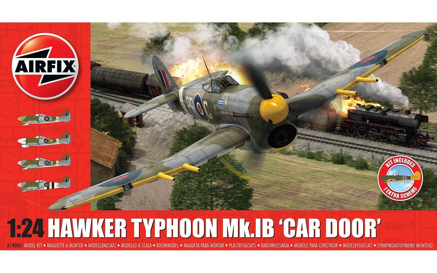 Hawker Typhoon Mk.1B - Car Door