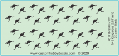 Black Kangaroos Decals 1/48
