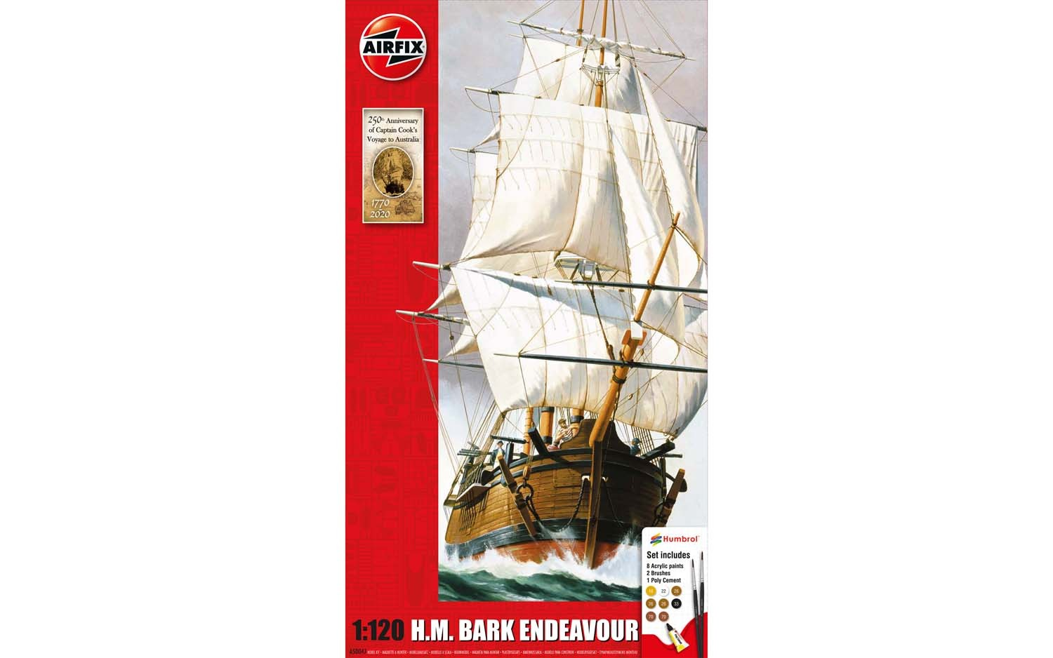 Endeavour Bark and Captain Cook 250th anniversary