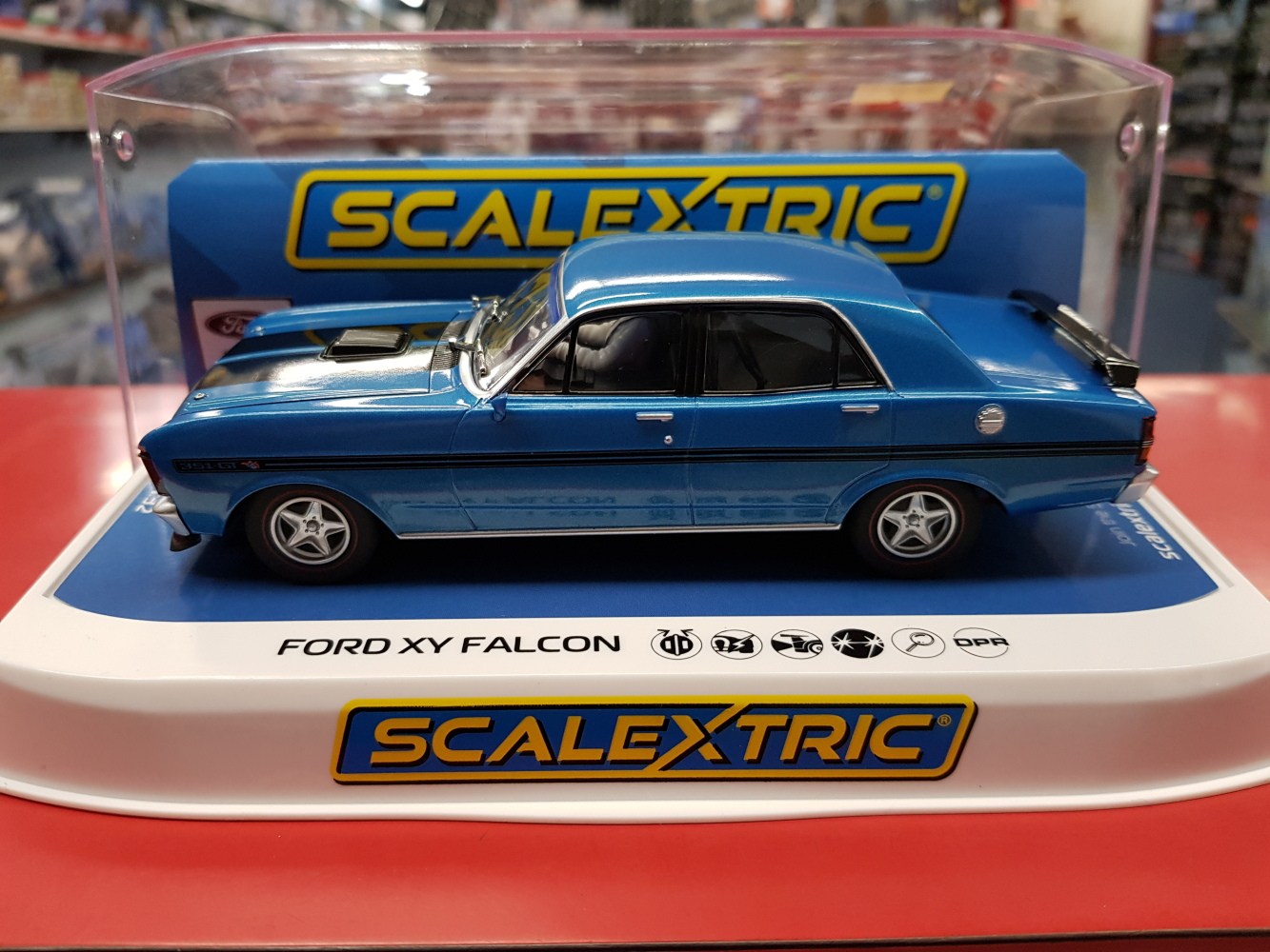 Ford XY Falcon GTHO Phase III Electric Blue