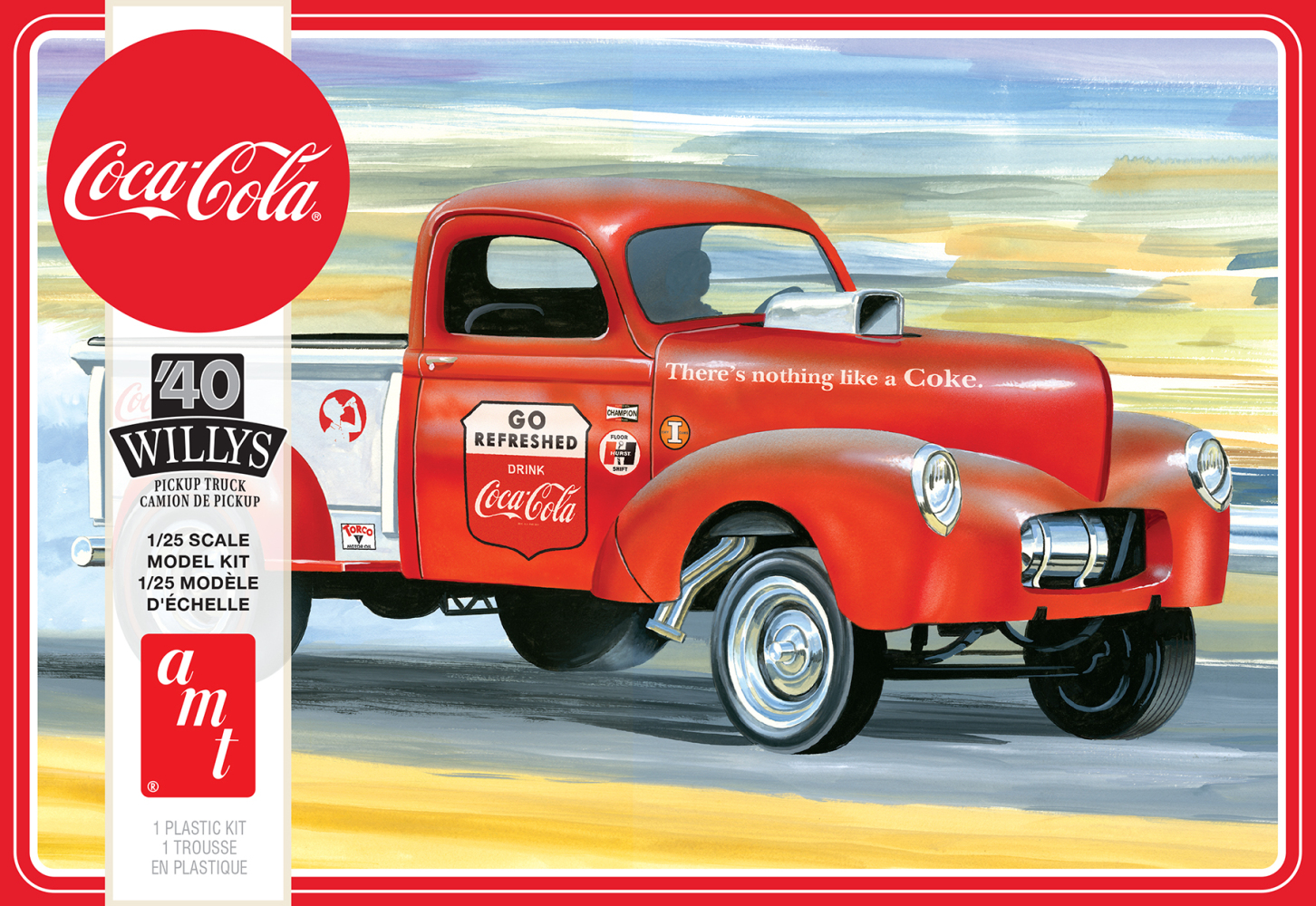 1940 Willys Pickup Gasser (Coca-Cola)