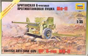 QF-6 Mk II British Anti-Tank gun